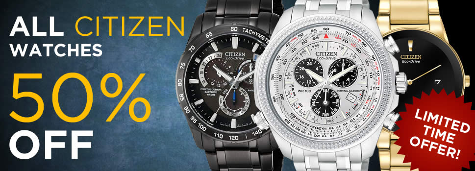Citizen 50% OFF